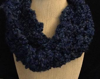 Wintery circular scarves