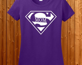 Super Mom T-shirt - T-shirt for Parent's Day , T-shirt for Mother's Day , Tshirt for Mom , shirt for mom, gift for mom, Super Mommy SM-00123