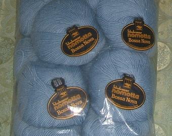Full Bag (10 Skeins) Bossa Nova Nomatta - Blue