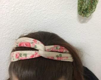 Twist yoga headband