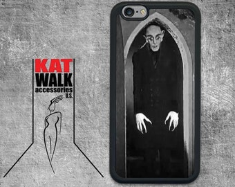 Halloween Nosferatu iPhone Case. Horror Rubber Case. Vampire iPhone Case. Goth Phone Cover. Horror Movie iPhone case. Halloween Phone case.