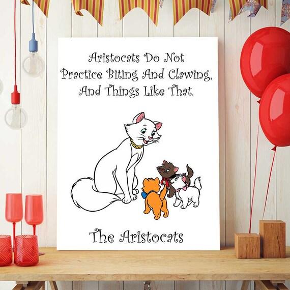 Die aristocats print disney zitate aristocats druckbare - Disney zitate deutsch ...
