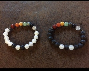 Chakra Grounding & Purifying Bracelets