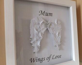 Wings of Love Frame
