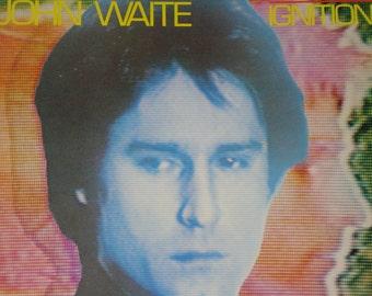 John Waite vinyl record album, Ignition vintage vinyl record