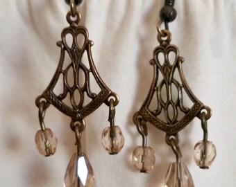 Filigree Chandelier Earrings