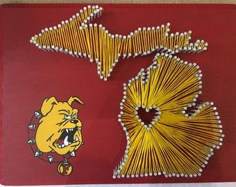Ferris University String Art