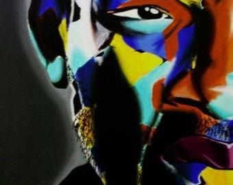 table contemporary art PORTRAIT WILL SMITH
