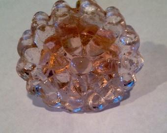 Antique glass knob