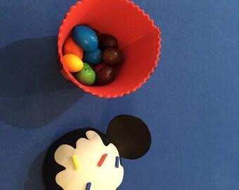 Mickey cupcake favor