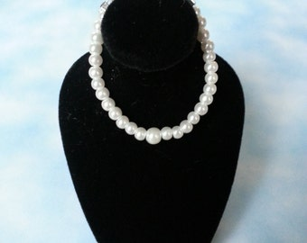 Jewels for Ginny REMAKE WHITE PEARL