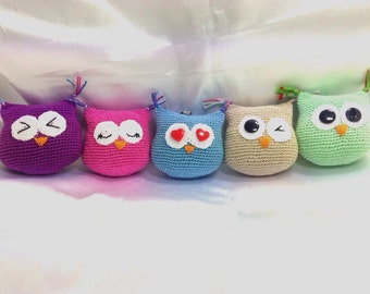 "Keyring ""OWL in Love"""