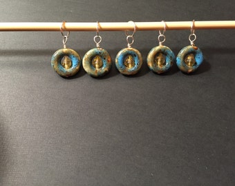 Set of 5 stitch markers