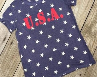 SALE!!!! USA Star Tee