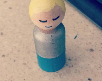 Child peg doll