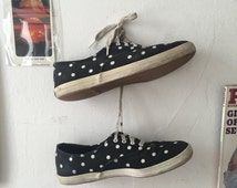 Vintage Polka Dot Keds Sz. US 8.5, UK 6, EUR 39.5