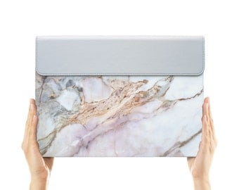 macbook air case leather carry bag pouch for apple mac macbook air pro 11 12 13 15 crack marble abstract
