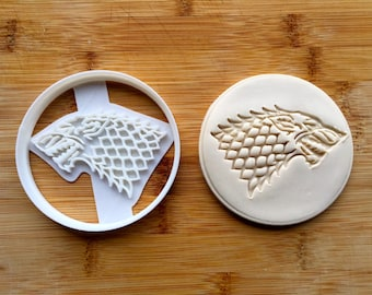 Game of Thrones Cookie Cutter - Stark Sigil