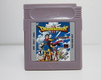 Dragon Warrior III fan made reproduction Gameboy Color RPG
