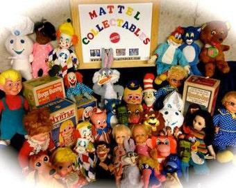 Restoration & Repair of Vintage Mattel 60s talking dolls and puppets.