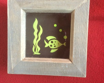 Glow in the dark fish picture- small