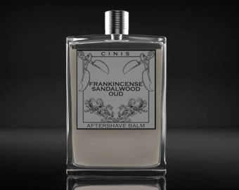 Frankincense Sandalwood Oud,  aftershave balm, lotion, tonic