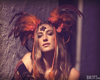 Fire Fairy Headpiece By ShapeShifters