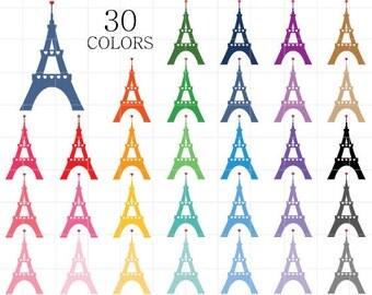 Eiffel tower clip art – Etsy