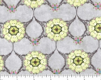 "Yellow Flowers- ""Songbird""   Collection By Kathleen Francour For SPX Fabrics"