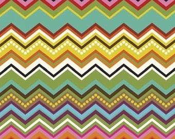 """Windham Fabrics Jackie Shapiro French Bull """"Mosaica"""" Chevron Cotton Fabric"""