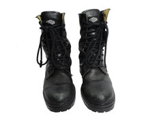 BOY London® Original Vintage 1980s Punk Rock Combat Boots | Women's size 6.5