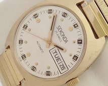25 Jewels Made in Ussr Sekonda Automatic vintage watch mint condition.