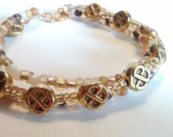 Threefold Celtic Bracelet