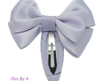 "Purple, Pink, Blue, Navy Blue, White,Set of 4, 2 "",Satin Ribbon , Baby Hairclip,Newborn Headban, Pastel Hairclip, Hairpin, Hair Clip"