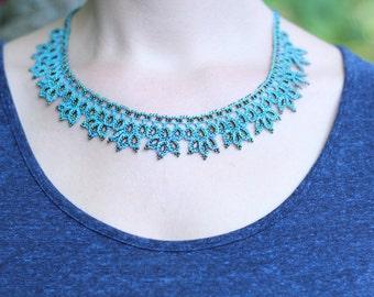 Crocheted Necklace Damla NBM