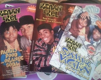 Kenan & Kel Book Set - Set of 3 Books - 90s Nickelodeon