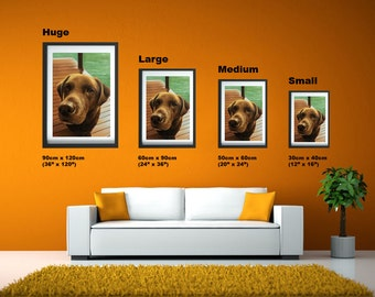 Pet portrait specialists, Dog portrait,  Custom Dog portraits