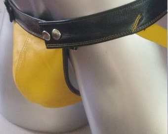Leather Jockstrap