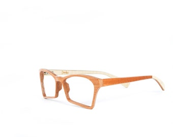 wood eyeglasses
