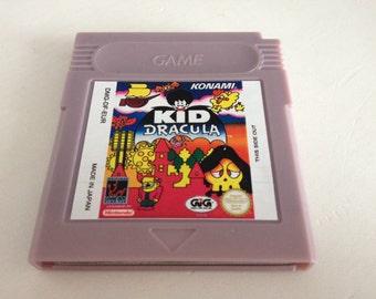 Kid Dracula for Nintendo Gameboy