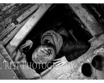 AWARD WINNING PHOTOGRAPH - Multiple Sizes - Archival Quality - Artist Photography Print - Black And White - Abandonded