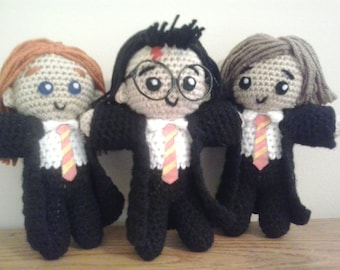 Harry Potter and friends dolls