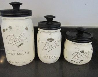 Mason Jar Canister Set