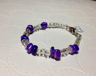 "ID# 175 GRAPE SODA Pop 5.75"" bracelet"