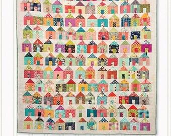 Village Quilt Pattern from Miss Rosie's Quilt Co