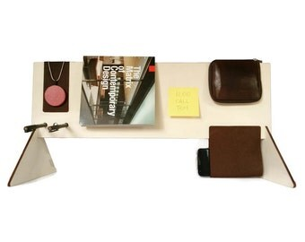 SALE Laser cut wood desk shelf,pen holder,desk caddy,book stand,desk storage,magazine stand,desk organizer,pencil holder,organize,mens gift
