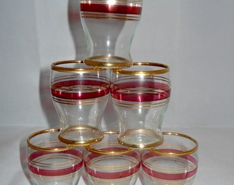 Shot Glasses x 6
