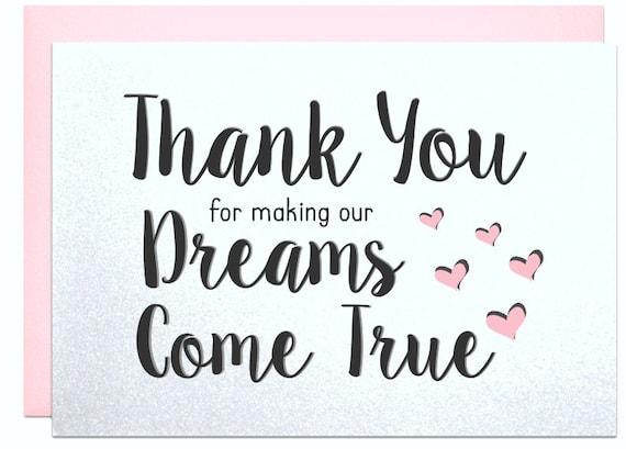 Thank You Gift Wedding Planner : ... wedding planner, parents gift, wedding singer, thank you card, our