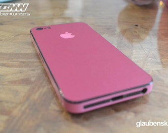 iphone 5 skin pink on pink