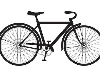 Bike Decal/ Sticker